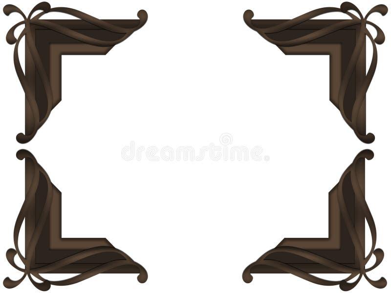 Foto Cornera del final del chocolate imagen de archivo