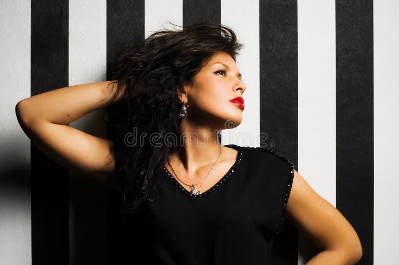 Foto da forma da mulher nova fotografia de stock royalty free
