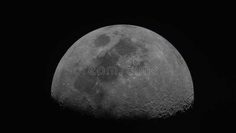 Foto da lua imagens de stock