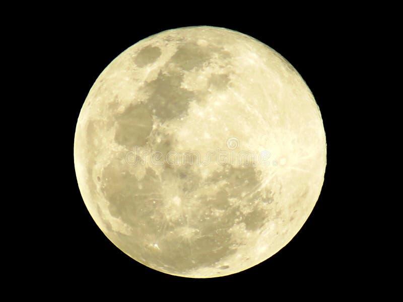 Foto da Lua cheia imagens de stock