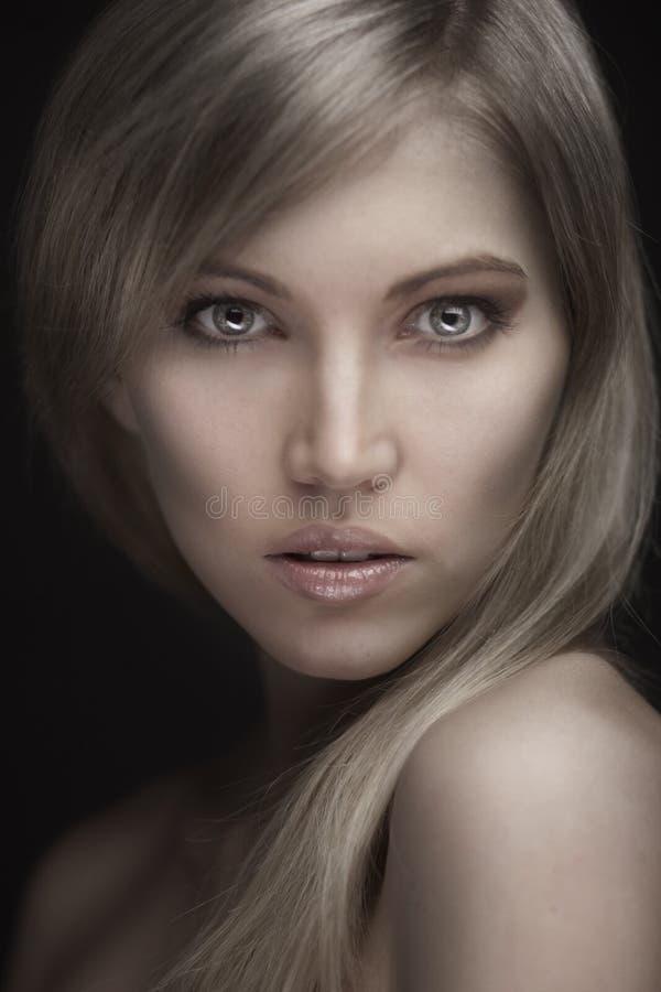 Foto da mulher bonita nova fotografia de stock royalty free