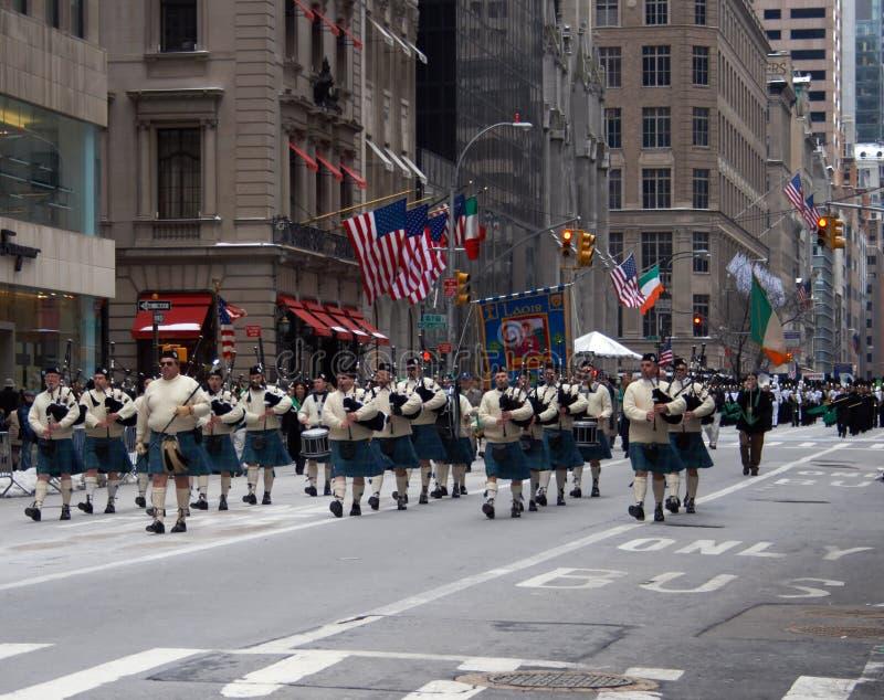 Foto da parada do dia do St Patrick imagens de stock