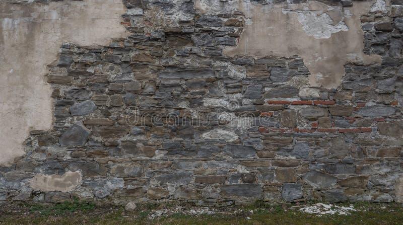 Foto da parede de pedra da parte fotos de stock