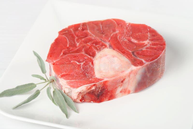 Foto da parte cortada vitela da carne imagem de stock royalty free