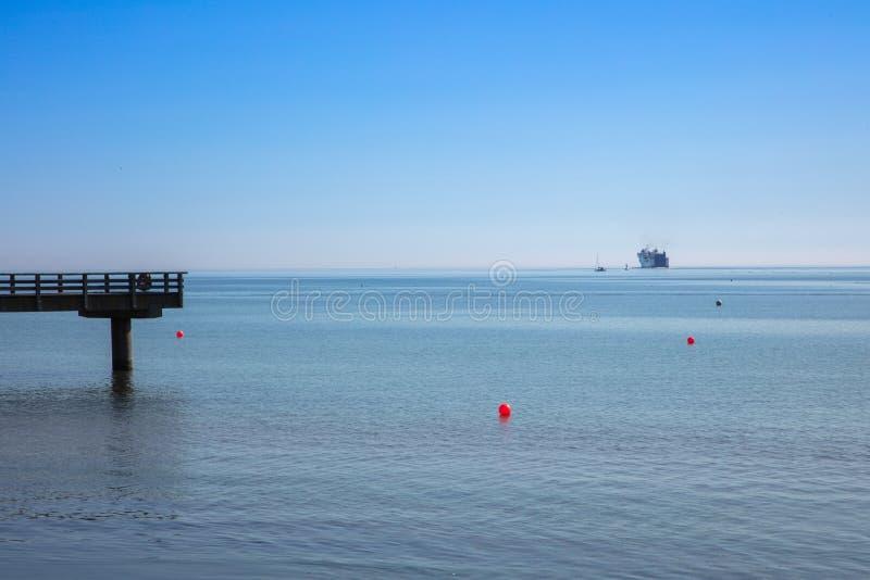 foto da praia no tempo bonito imagem de stock royalty free