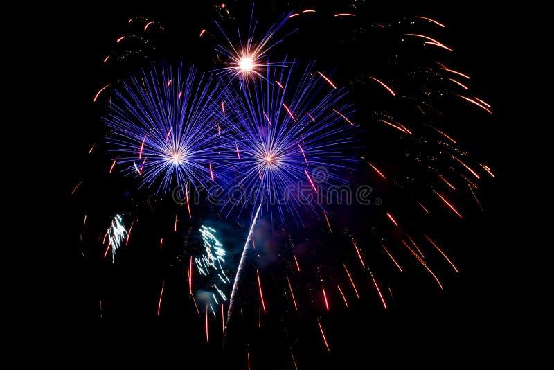 Foto de fuegos artificiales imagen de archivo libre de regalías