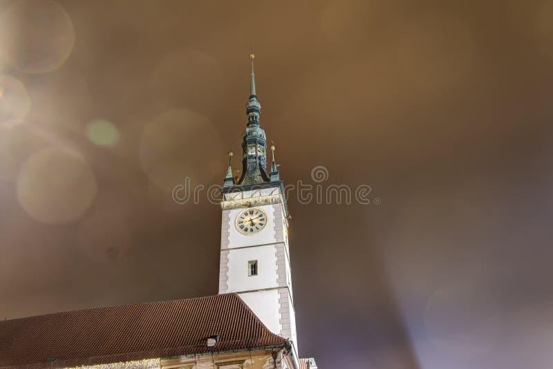 Download Foto De HDR De La Torre Del Ayuntamiento De Olomouc En La Noche, República Checa Imagen de archivo - Imagen de dinámico, holidays: 64202277