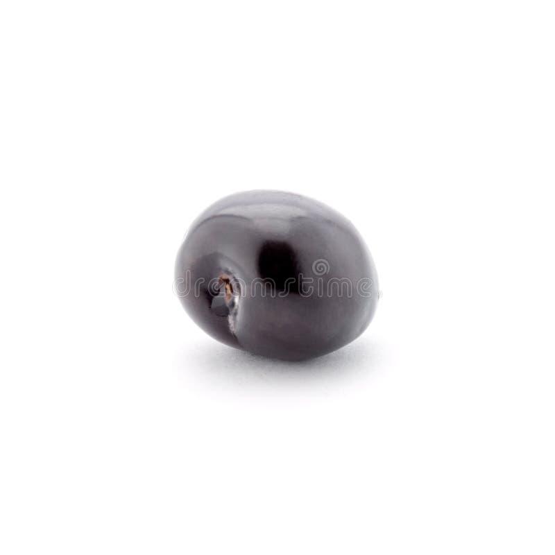 Foto de la cereza rojo oscuro aislada en el fondo blanco imagenes de archivo