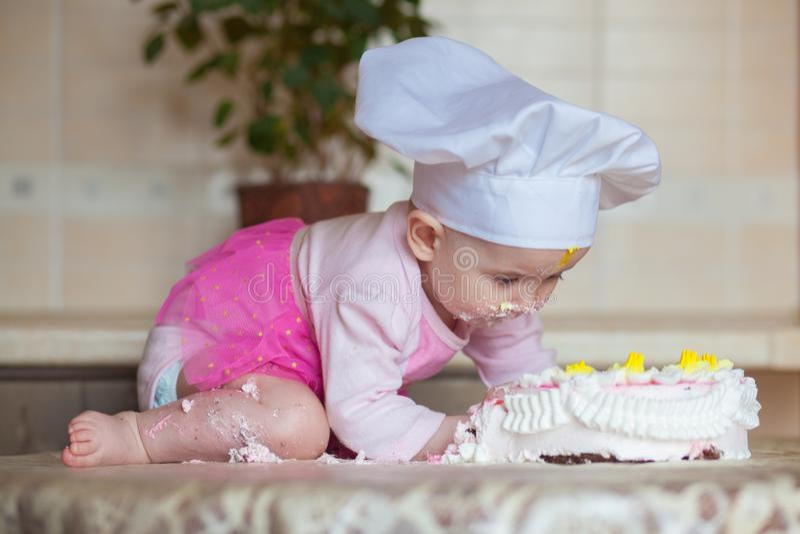 Foto de la comida carie y dulce foto de archivo libre de regalías