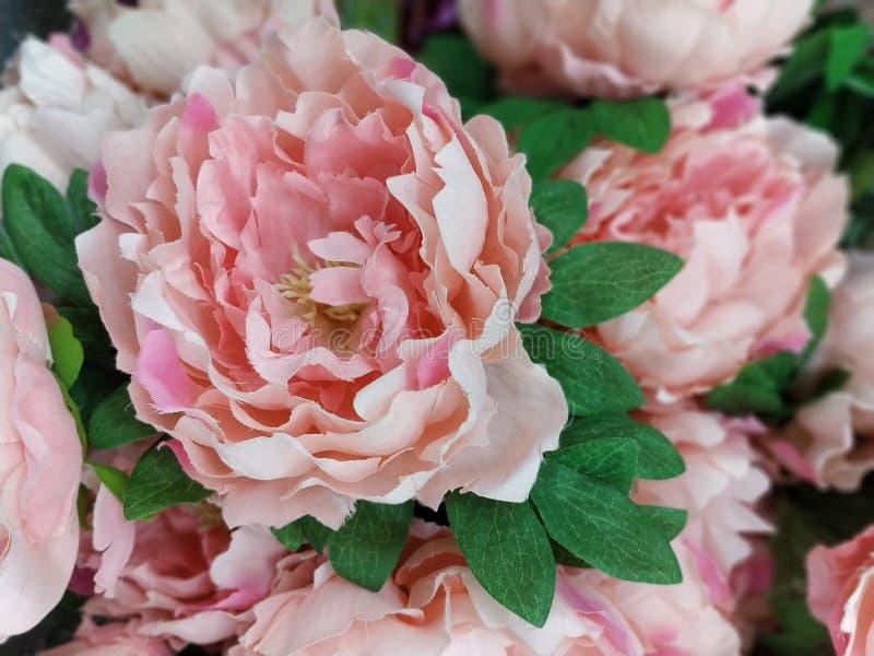 Foto de la imagen de la flor artificial imágenes de archivo libres de regalías