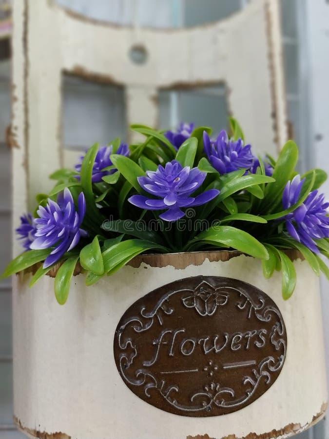 Foto de la imagen de la flor artificial imagenes de archivo