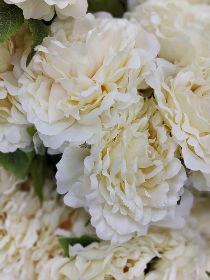 Foto de la imagen de la flor artificial fotografía de archivo