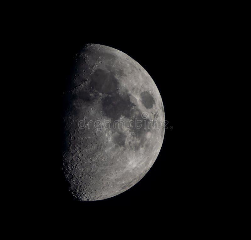 Foto de la luna fotografía de archivo