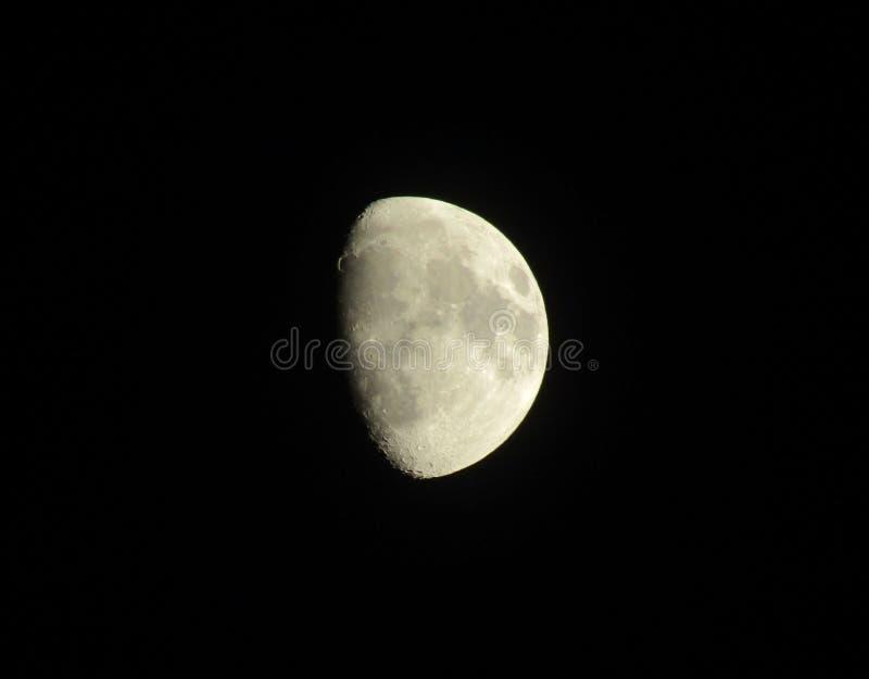 Foto de la luna imagenes de archivo