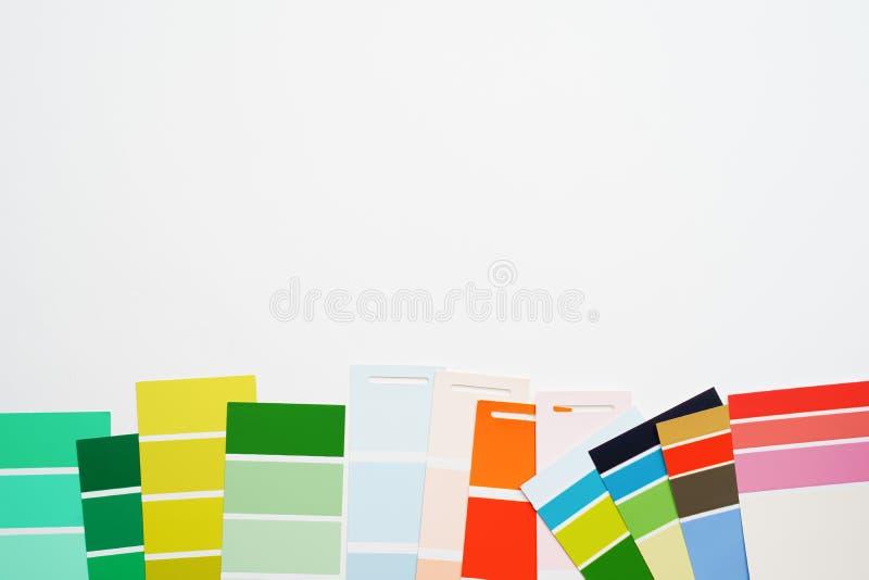 Foto de la paleta coloreada multi imagen de archivo libre de regalías