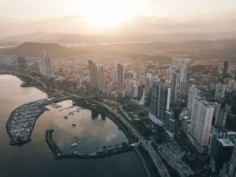 Foto de la parte 18 de ciudad de Panamá fotografía de archivo libre de regalías