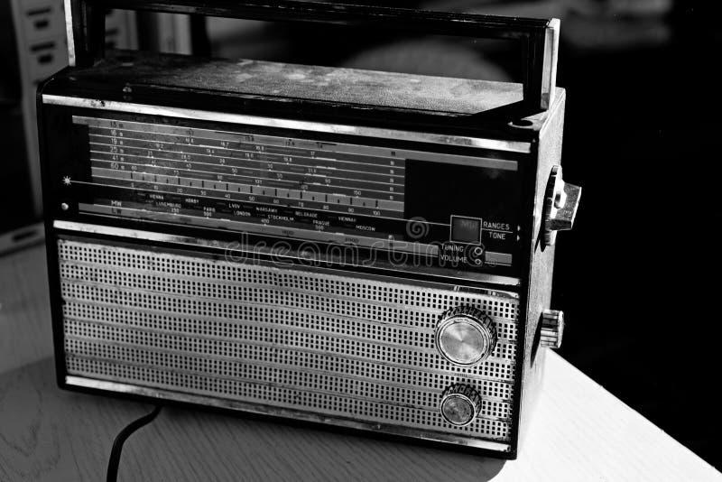 Foto de la radio retra imágenes de archivo libres de regalías