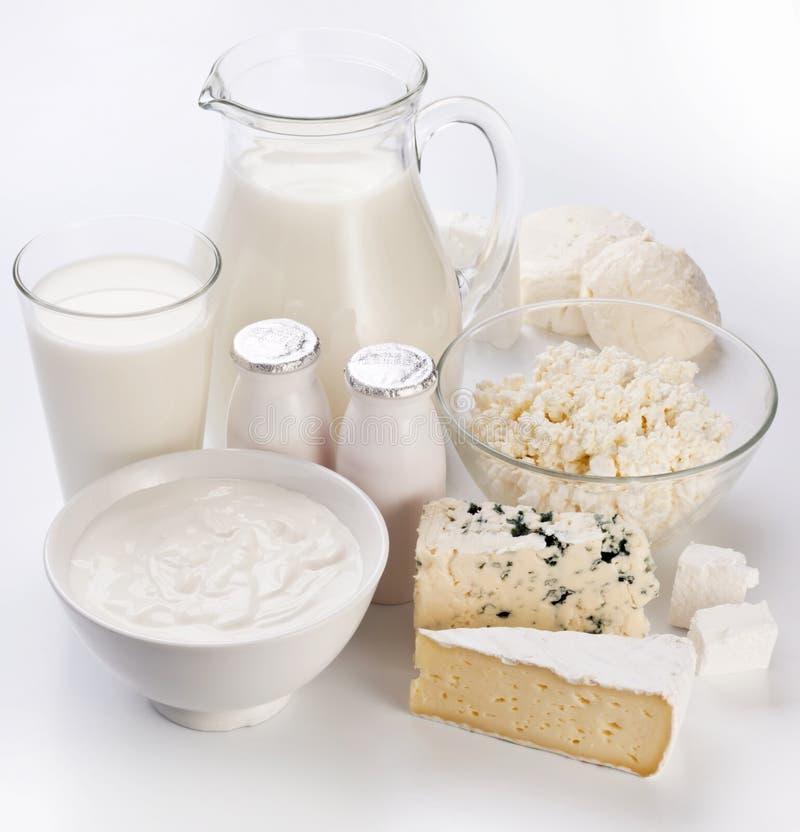 Foto de los productos lácteos. fotos de archivo libres de regalías