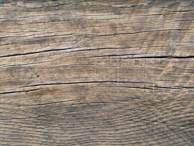 Foto de madeira marrom velha da textura da superfície da placa fotos de stock royalty free