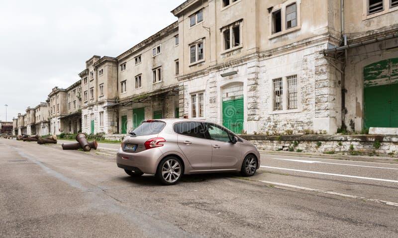 Foto de Peugeot 208 E-hdi 1 6cc imágenes de archivo libres de regalías