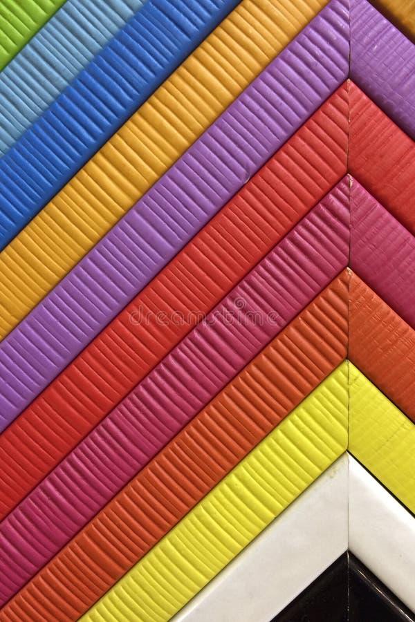 Foto de quadros multicolour da foto fotografia de stock