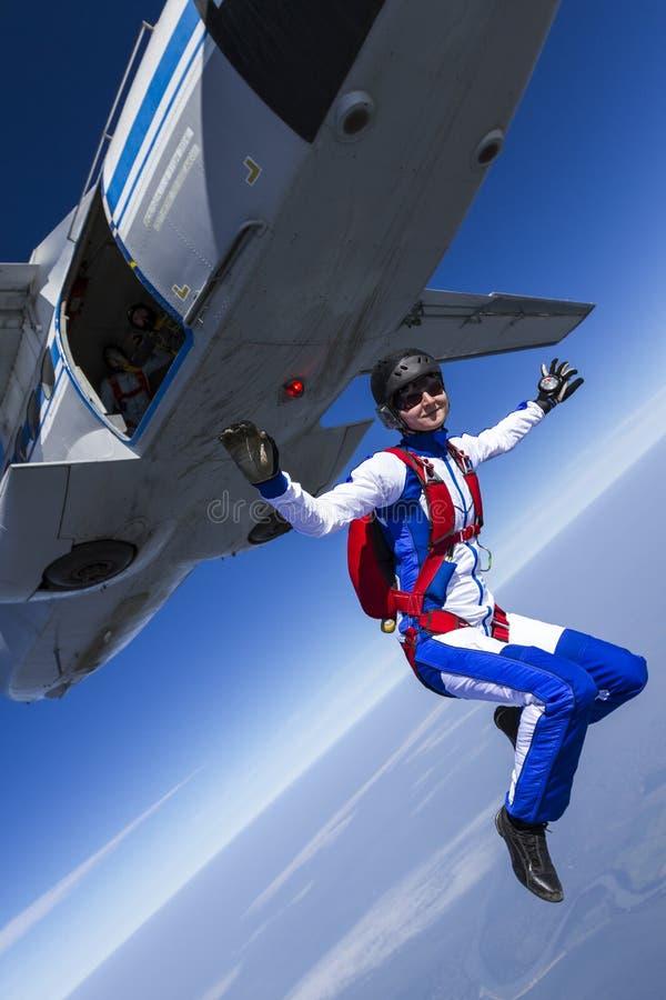 Foto de Skydiving fotos de archivo