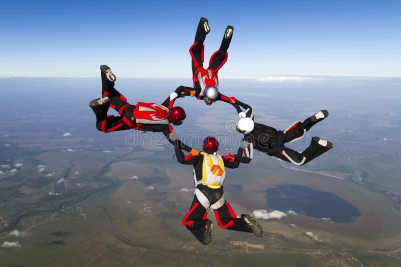 Foto de Skydiving imágenes de archivo libres de regalías