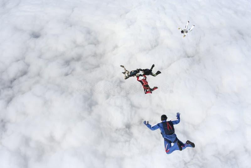 Foto de Skydiving foto de stock royalty free