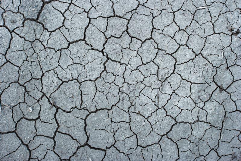 Foto de tierra seca rota desde arriba imagen de archivo libre de regalías
