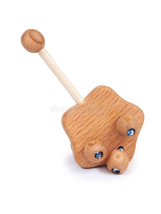 Foto de um brinquedo de madeira imagem de stock