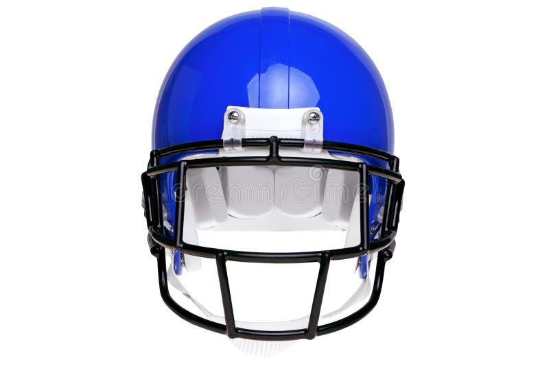 Foto de um capacete de futebol americano fotografia de stock