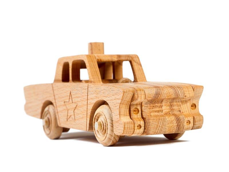 Foto de un coche de madera fotos de archivo