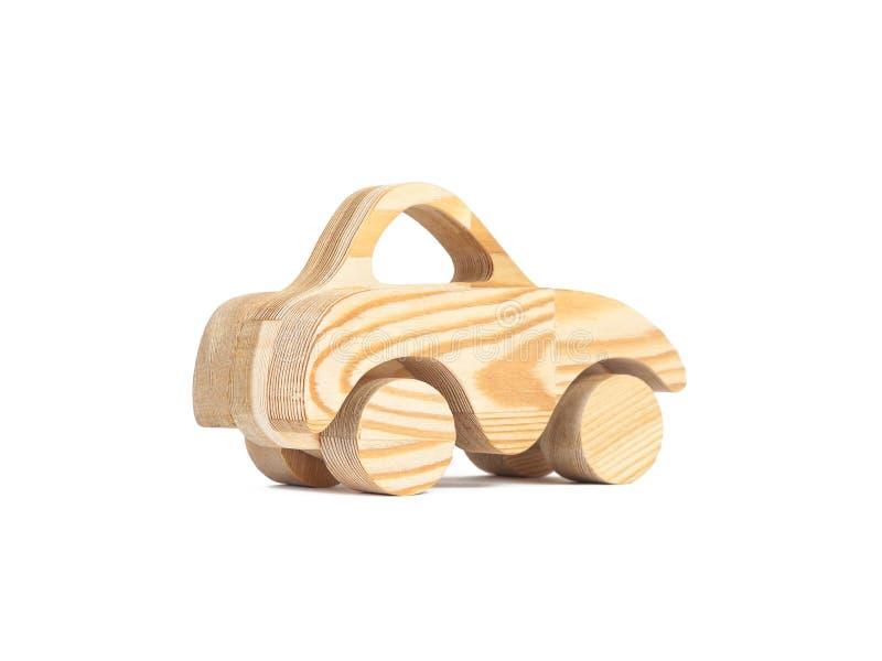 Foto de un coche de madera imagenes de archivo