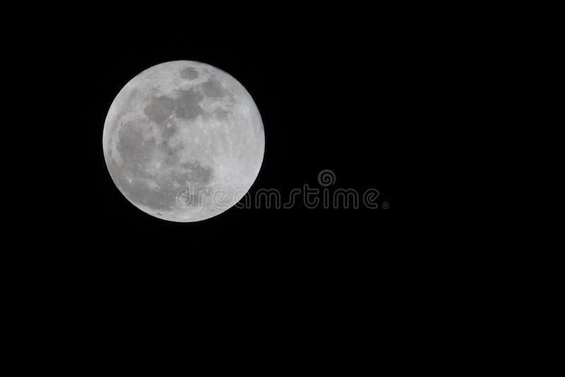 Foto de una Luna Llena fotos de archivo libres de regalías