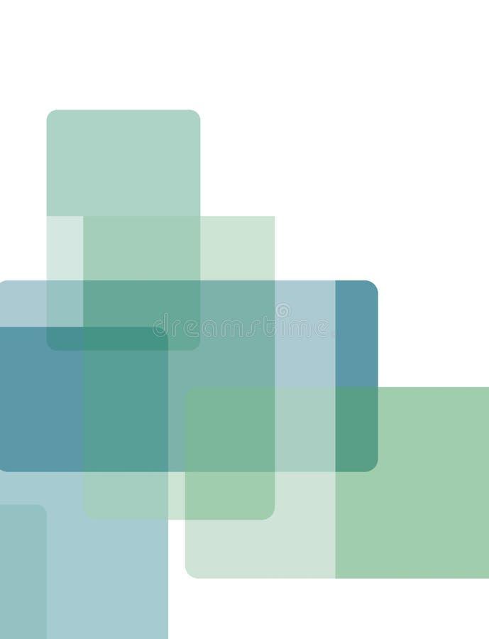 Foto del modelo abstracto del fondo en tonos del azul libre illustration