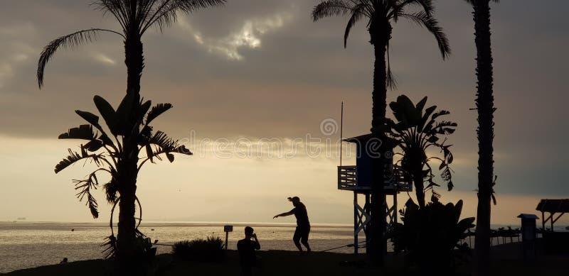 foto del paisaje con el mar en el fondo imagen de archivo libre de regalías
