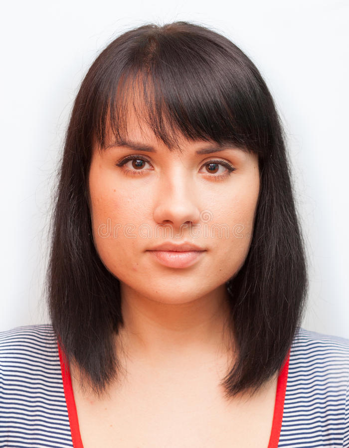 Foto del passaporto immagini stock libere da diritti