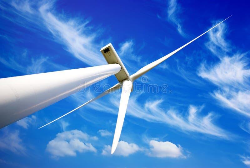 Turbina de la energía eólica imagen de archivo