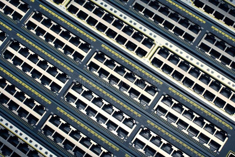 Foto del primo piano del router, senza cavi immagini stock