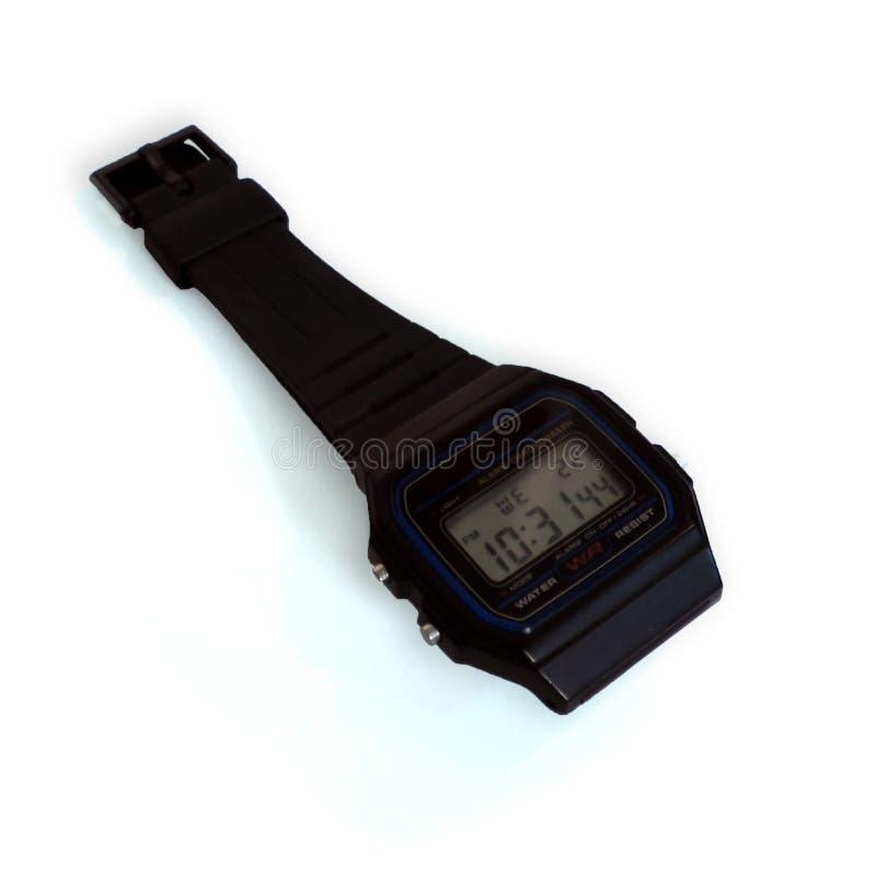 Foto del prodotto dell'orologio di Digital immagini stock