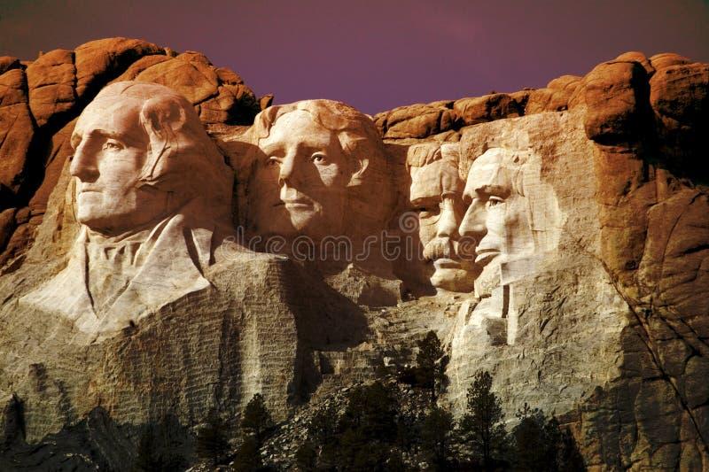 Foto del supporto Rushmore, il Dakota del Sud   fotografia stock libera da diritti