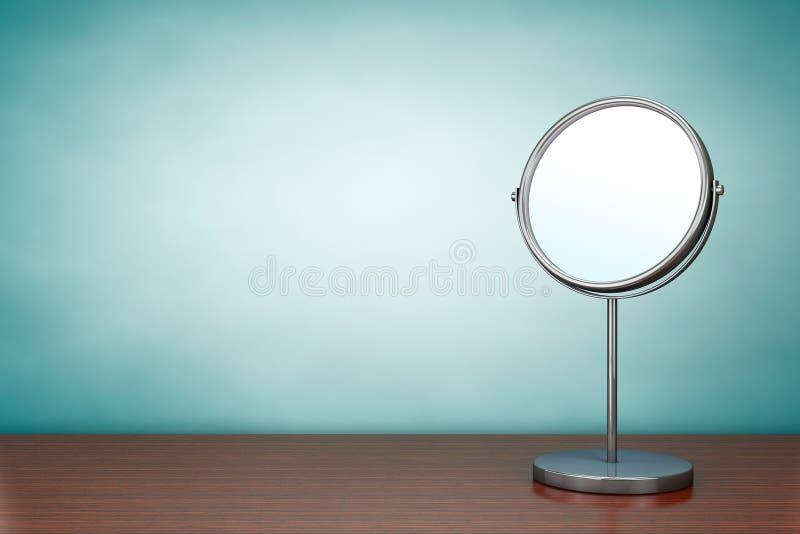 Foto del viejo estilo Espejo del maquillaje de Chrome libre illustration