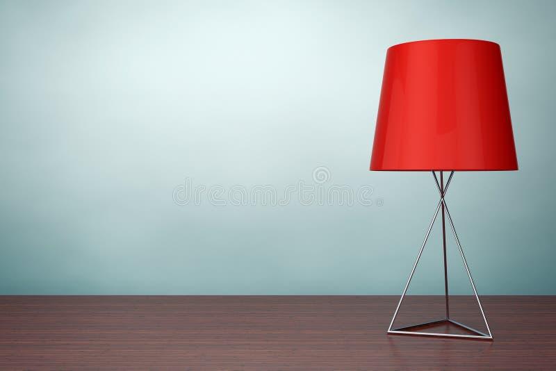 Foto del viejo estilo Lámpara de mesa moderna de la moda representación 3d stock de ilustración