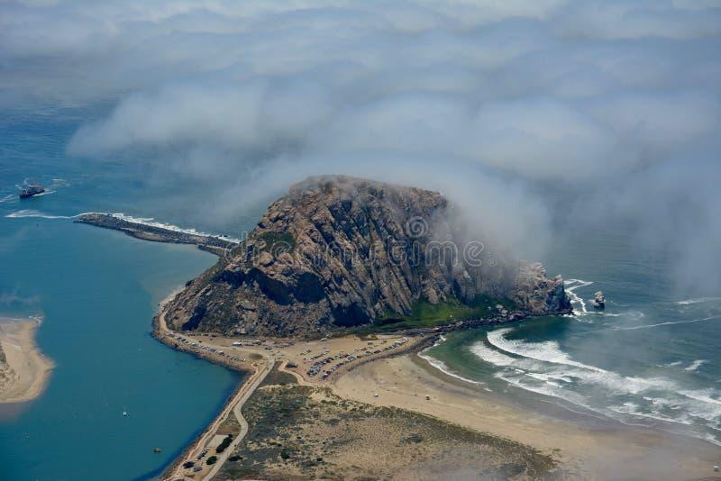 Foto dell'antenna della baia di Morro immagini stock libere da diritti