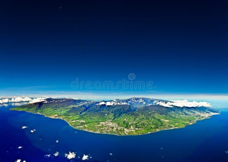 Foto dell'antenna di Reunion Island fotografia stock