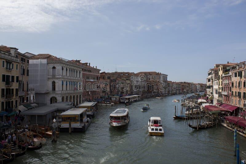 Foto della città su Venezia acqua fotografia stock