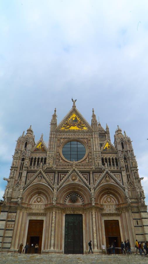 Di Siena Del Duomo E Campanile Vista Dal Facciatone ...