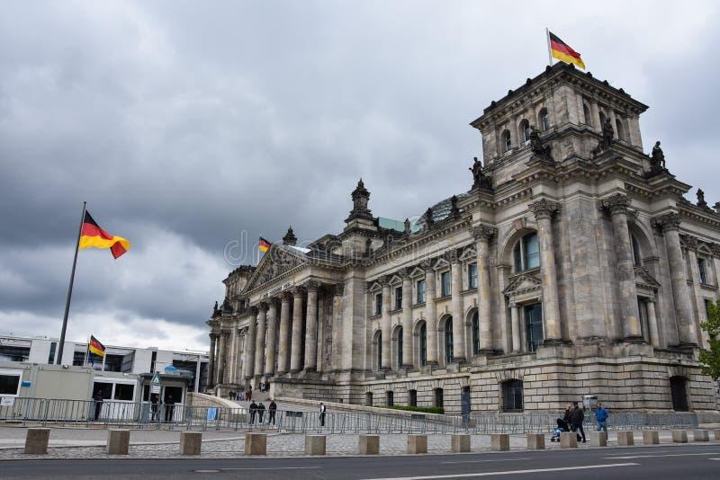 Foto della Germania Bundestag immagine stock libera da diritti