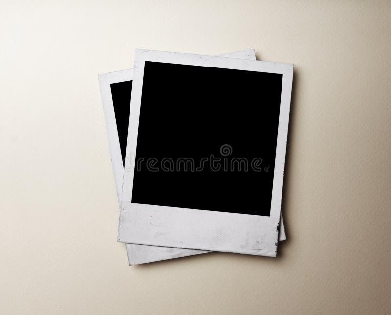 Foto della polaroid fotografia stock