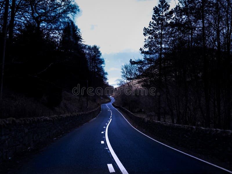 Foto della strada immagine stock